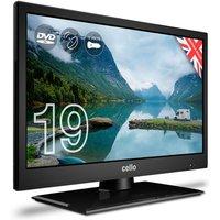 Cello 19 Inch C1920FMTR LED Digital 12v Traveller TV with DVD Player