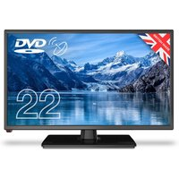 Cello 22 Inch C2220F Freeview Combi TV.