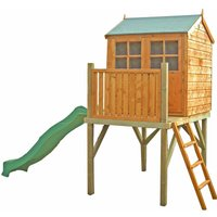 Bunny Play House with Platform 6x4 with Assembly with Slide