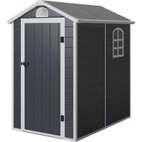 Plastic Garden Storage Shed 4.4 x 6.3ft