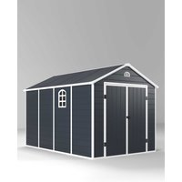 Plastic Garden Storage Shed 8 x 12ft