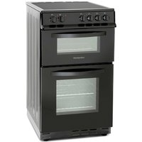 Montpellier 50cm Double Oven Electric Cooker with Ceramic Hob