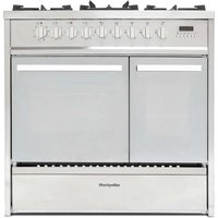 Montpellier 90cm Stainless Steel Dual Fuel Range Cooker