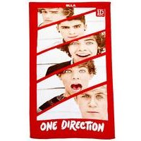 'Personalised Kids Towel - One Direction