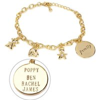 Personalised Family Charm Bracelet