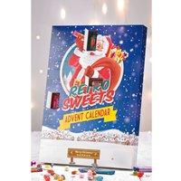 Personalised Retro Sweets Advent Calendar
