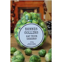 Personalised Sprouts Chocolate Jar.