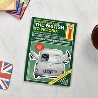 Personalised Haynes Explains the British Book.
