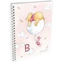 Personalised Winnie the Pooh and Piglet Initial A5 Notepad