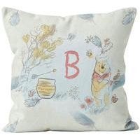 Personalised Winnie the Pooh Initial Cushion