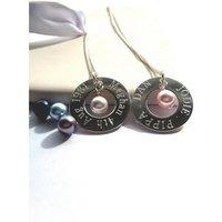 Personalised Eternity Swarovski Pearl Necklace