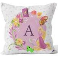 Personalised Disney Princess Rapunzel Initial Cushion