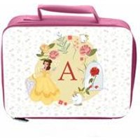 Personalised Disney Princess Belle Initial Lunch Bag