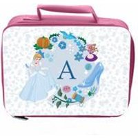 Personalised Disney Princess Cinderella Initial Lunch Bag