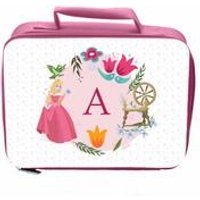 Personalised Disney Princess Aurora Initial Lunch Bag