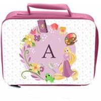 Personalised Disney Princess Rapunze Initial Lunch Bag