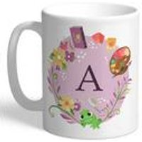 Personalised Disney Princess Rapunzel Initial Mug