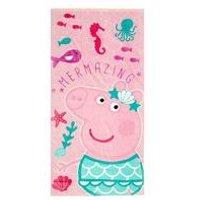 Personalised Peppa Pig Towel
