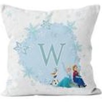 Personalised Disney Frozen Initial Cushion