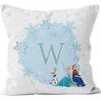 Personalised Disney Frozen Initial Cushion