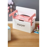 Personalised Convertible Toy Chest and Desk