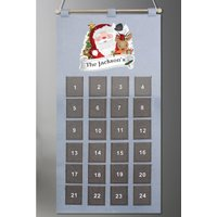 Personalised Santa Advent Calendar