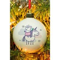 Personalised Peppa Pig Christmas Bauble