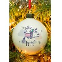 Personalised Peppa Pig Bauble