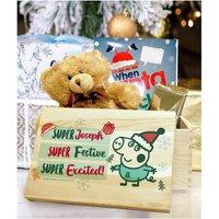 Personalised Peppa Pig George Pig Christmas Eve Box