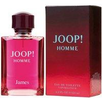 Personalised Joop! Homme 125ml Eau De Toilette.