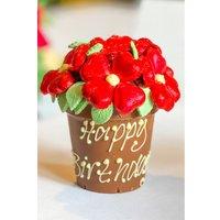 Personalised Belgian Chocolate Smash Flower Pot.