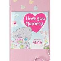 Personalised Tiny Tatty Teddy I Love You Mummy - Softback.