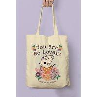 Personalised Peppa Pig Mummy Pig Floral Tote Bag