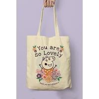 Personalised Peppa Pig Mummy Pig Floral Tote Bag
