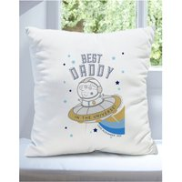Personalised Peppa Pig Best Daddy Cushion