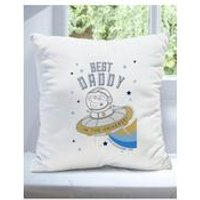 Personalised Peppa Pig Best Daddy Cushion