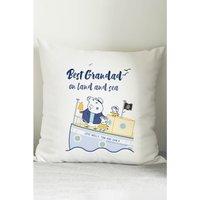 Personalised Peppa Pig Best Grandad Cushion