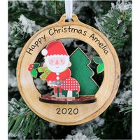 Personalised Make Your Own Santa 3D Decoration Kit- Toadstool