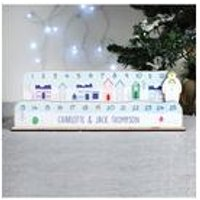 Personalised Make Your Own The Snowman Christmas Advent Countdown