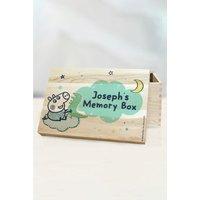 Personalised Peppa Pig George Pig Memory Box