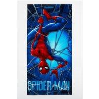 Personalised Spiderman Towel