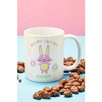 Personalised Easter Mug and Chocolates.