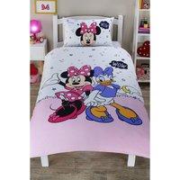 Personalised Minnie Mouse Single Reversible Duvet Set