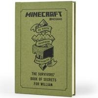 Personalised Minecraft: The Survivors Book of Secrets.