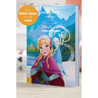 'Personalised Disney Frozen - Softback Book