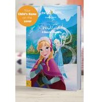 Personalised Disney Frozen - Softback Book