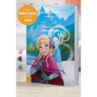 'Personalised Disney Frozen - Hardback Book