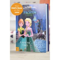 Personalised Disney Frozen Fever - Hardback Book