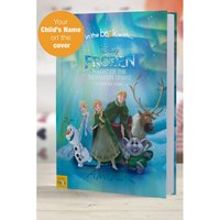 Personalised Disney Frozen Northern Lights - Softback Book
