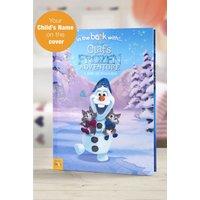 'Personalised Disney Olafs Frozen Adventure - Softback Book